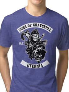 SONS OF GRAYSKULL!! (BLACK) Tri-blend T-Shirt