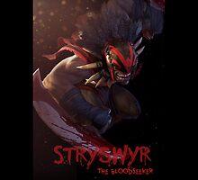 FROZEN THRONE  Strygwyr the Bloodseeker by mhmttunceroglu