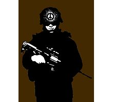 PEACE SOLDIER Photographic Print