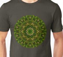 Green fairy Flower Mandala 2 Unisex T-Shirt