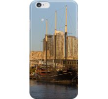 Tall Ship and Full Moon at Toronto Harbourfront iPhone Case/Skin