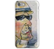 thinking man iPhone Case/Skin