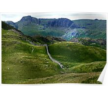 Harrison Stickle from Lingmoor Fell Poster