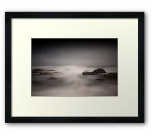 Stormy Sea - Guileen Co. Cork Ireland Framed Print