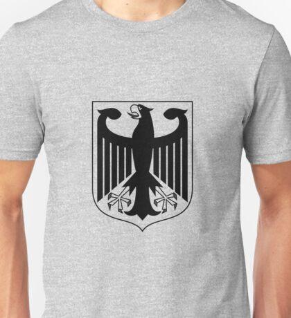 German Eagle - Black Unisex T-Shirt