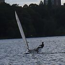 Sailer On The Reservoir by JenaHall