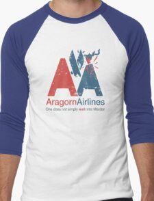 Aragorn Airlines Men's Baseball ¾ T-Shirt