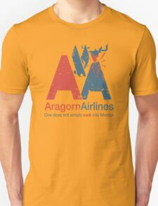 Aragorn Airlines Unisex T-Shirt