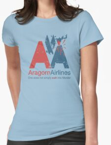Aragorn Airlines Womens Fitted T-Shirt