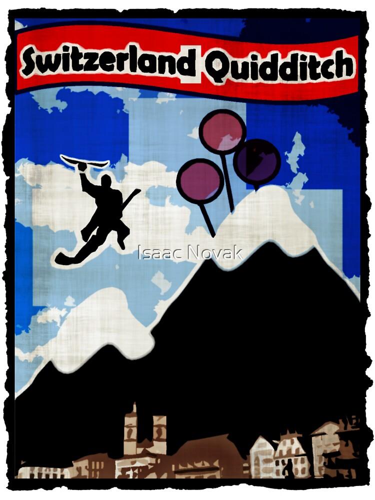Switzerland Quidditch by Isaac Novak