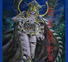 FROZEN THRONE  Mortred the Phantom Assassin by mhmttunceroglu