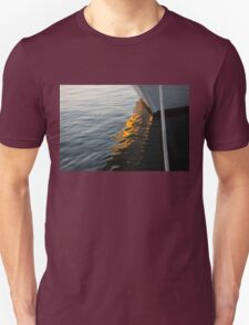 Reflecting on Boats and Sunsets T-Shirt
