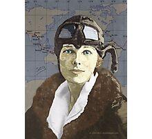 Amelia Earhart Photographic Print