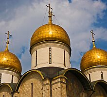 Dormition Cathedral, Moscow by eddiechui