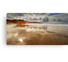 The wash - Anglesea Canvas Print
