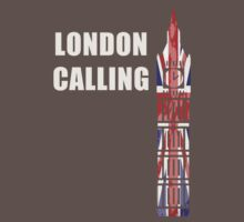 London Calling - Clock Tower Kids Clothes