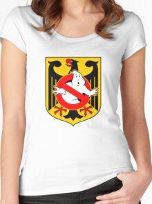 GB: Deutschland Women's Fitted Scoop T-Shirt