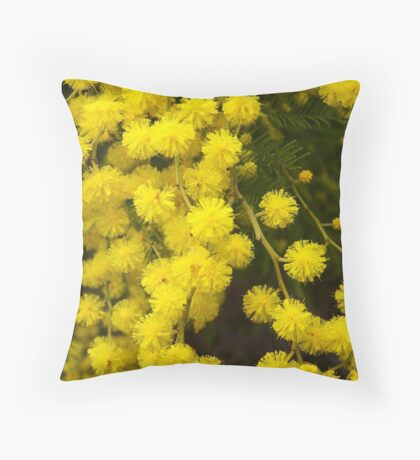 Fireworks of Nature Throw Pillow