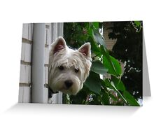 Don't go without me Greeting Card
