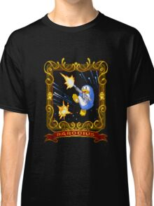 parodius penguin with a machine gun Classic T-Shirt