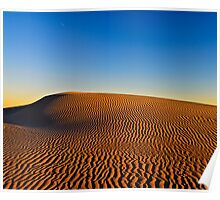Patterns In The Sand Poster