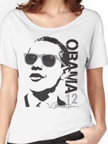 Obama 12 Shirt Shades Women's Relaxed Fit T-Shirt
