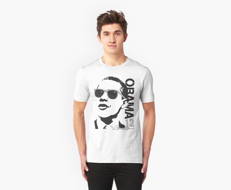 Obama 12 Shirt Shades by ObamaShirt