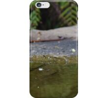 Reflecting on bath time iPhone Case/Skin