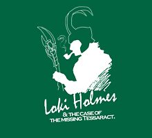 Loki Holmes (white) Unisex T-Shirt
