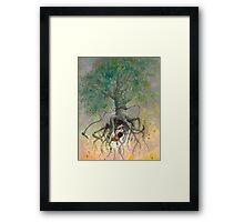 The Roaming Oak Framed Print