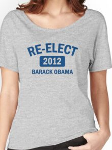 Re-Elect Obama 2012 Shirt Women's Relaxed Fit T-Shirt