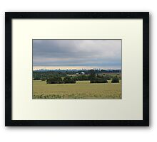City Scape of Toronto Framed Print