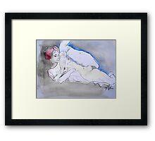 erotic lessons from klimt #2 Framed Print