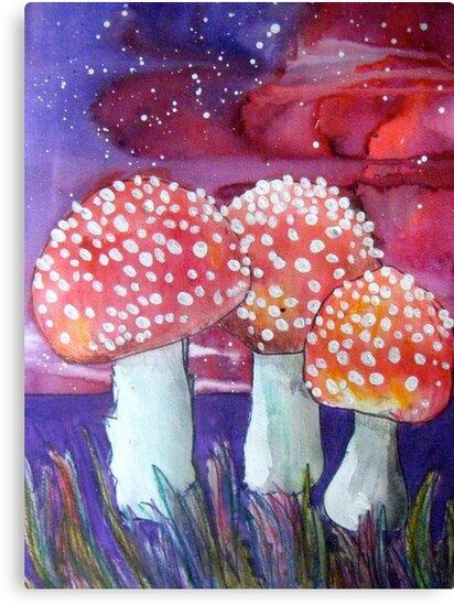 Magic Mushrooms by Alexandra Felgate