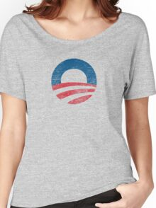 Retro Obama Logo Shirt Women's Relaxed Fit T-Shirt