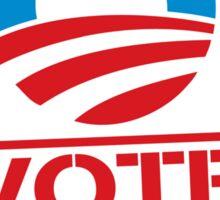 Vote Obama 2012 T Shirt Sticker