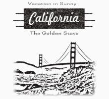 California Vacation II Baby Tee