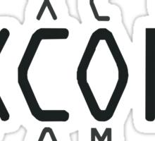X-COM Sticker