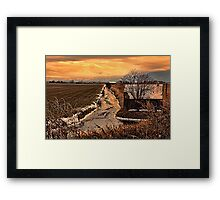 The Irrigation Canal Framed Print