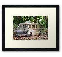 Micro Winnebago Framed Print