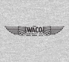 Waco Aircraft Company Logo (Black) by warbirdwear