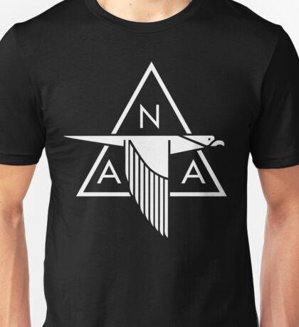 North American Aviation Logo (White) Unisex T-Shirt