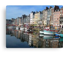 French Harbour Canvas Print