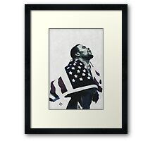 Knowing is Doing: Victorious Framed Print