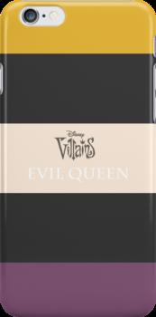 DISNEY VILLAINS: Evil Queen by iElkie