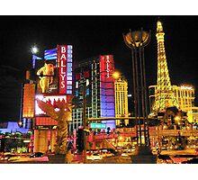 Las Vegas Blvd Photographic Print