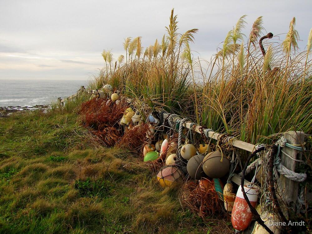 Coastal Fence...Waldport, Oregon by trueblvr