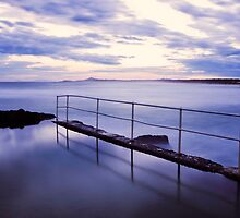 Sawtell Rock Pool by Trudi Skinn