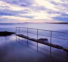 Sawtell Rock Pool by Trudi Skinn