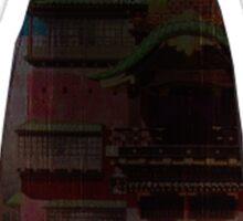 Spirited Away - No face - bathhouse Sticker